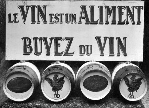 Le vin est un aliment